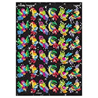 72 x Totally Tropical Glitter Stickers