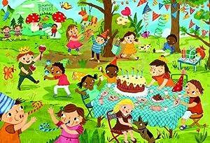 Euro Gráficos Puzzle 60 Pc - La Fiesta de cumpleaños (MO) - (EG60600468)