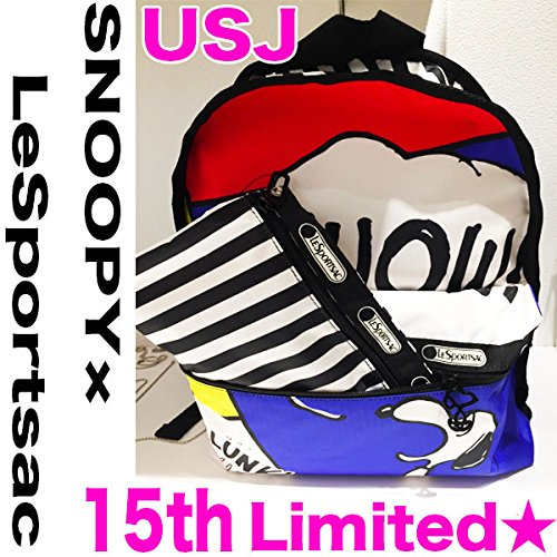 rare-universal-studio-japon-2016-15th-limited-lesportsac-bolsa-diseno-de-snoopy-usj-nuevo-3