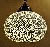 Home Décor Diseño tradicional lámpara de techo colgante turco 20 x 30 cm