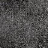 PVC CV Vinyl Bodenbelag Auslegware Betonoptik Metalloptik schwarz anthrazit 200, 300 und 400 cm breit, verschiedene Längen, Variante: Muster