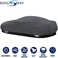 Kingsway Dust Proof Car Body Cover for Maruti Suzuki SX4 (Model Year : 2007-2013) (Grey Matty, Triple Stitched)