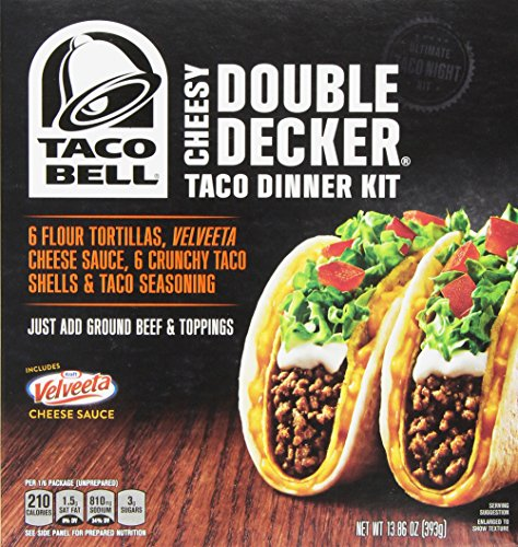 taco-bell-home-originals-cheesy-double-decker-taco-dinner-kit-1386-ounce-boxes-pack-of-10-by-taco-be