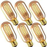 Vintage Edison Glühbirne T45 40W Industriell Stil Glühbirne Dekorative Leuchtmittel