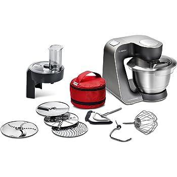 Amazon.de: Bosch MUM54251 Küchenmaschine Styline, Edelstahl ...