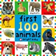 First 100 Animals (First Words (Priddy Books))