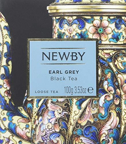 Newby Teas Earl Grey Loose Leaf Tea, 100 g