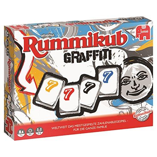 Rummikub Graffiti Niños Adultos Juego táctica -
