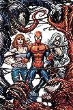 Close Up Poster Marvel Comics Spiderman-Venom and Carnage Fight (61cm x 91,5cm) + 1Poster Surprise de Cadeau