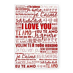 Idea Regalo - Biglietto Auguri I Love You Idea Regalo San Valentino
