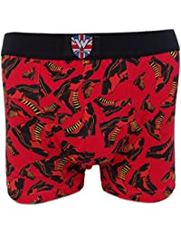 Warrior Pack of 2 MOD Bootboy Boxer Shorts Underwear/Underpants