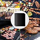 BBQ Grill Werkzeugset Grillbesteck Set Grillzubehör Grillhandschuhe Hitzebeständig bis 500°C,Grillthermometer Fleischthermometer Digitale,Grillmatten,Fleisch Krallen,Silikonwürzbürste - 5