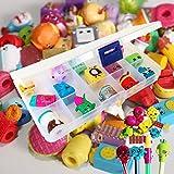 LOT de 15 Shopkins dans boite coffret 15 compartiments de ...