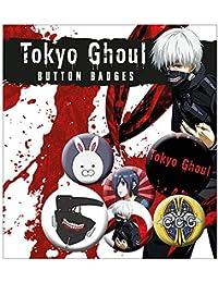 Set de 6 botones decorativos Tokyo Ghoul - Mix