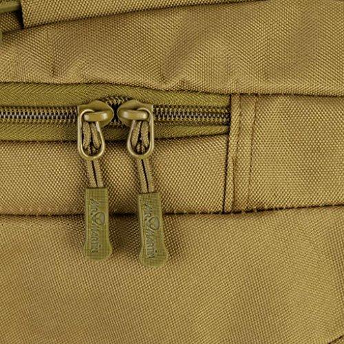 MagiDeal Backpack Zaino Sacchetto Di Stoccaggio Per Campeggio Scuola Viaggio Outdoor Accessori - ACU Digital Marrone