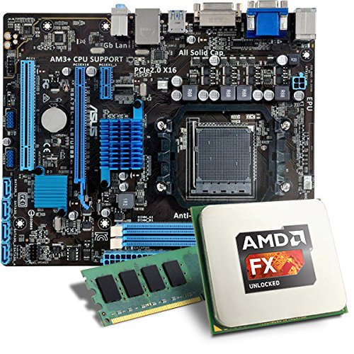 AMD FX-6300 / ASUS M5A78L-M LE/USB3.0 Mainboard Bundle / 8192 MB - CSL PC Aufrüstkit - AMD FX-Series FX-6300 6x 3500 MHz, 8192MB DDR3, Radeon HD 3000, GigLAN, 7.1 Sound, USB 3.0 - Aufrüstset - PC Tuning Kit
