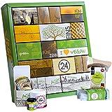 Gourmet Adventskalender Vegan & BIO - 24 feine Überraschungen in einem großen Kalender