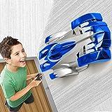 FSTgo Auto mit Mini-Fernbedienung für Jungs, Wall Climber Stunt-Auto, 2,4Ghz ferngesteuertes Rennfahrzeug, Elektro-Kinderspielzeug (Blau)