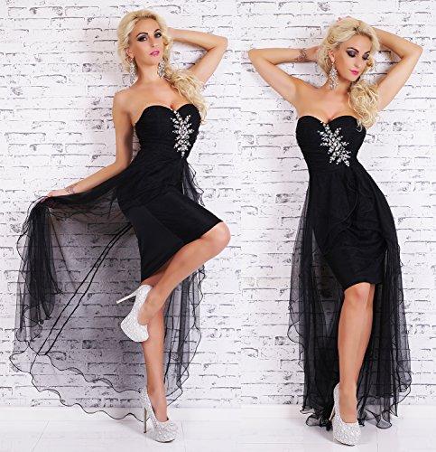 Fashion - Robe - Femme M/L Schwarz