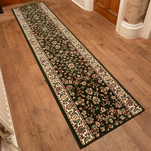 Persian Dark Green - Long Hall & Stair Carpet Runner