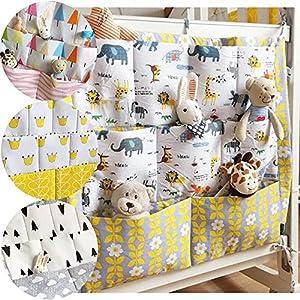 ?Baby Kinderzimmer Kinderbett multifunktionelle Windel Bettwäsche Multi Pocket hängen Aufbewahrungstasche