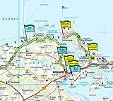 Mecklenburg-Vorpommern: Motorradkarte mit Ausflugszielen, Einkehr- & Freizeittipps und Tourenvorschl�gen, wetterfest, reissfest, abwischbar, GPS-genau. 1:250000 (Motorradkarte / MK)