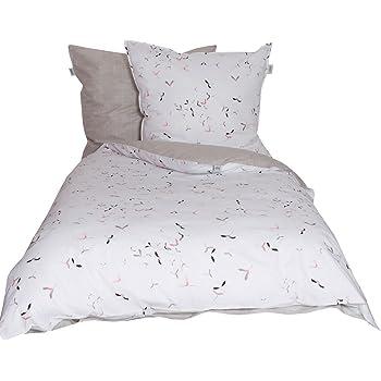Schöner Wohnen Bettwäsche Set Baumwolle Flamingo 220 X 155 Cm