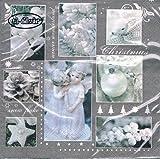 ti-flair - Servietten - White Winter - Weihnachten / Engel / Reh / Kugeln