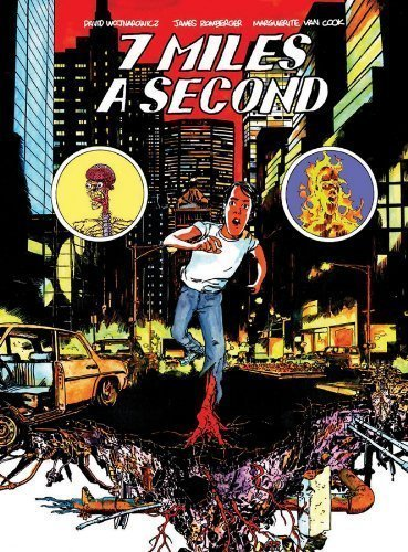 7 Miles a Second 1st (first) Edition by Wojnarowicz, David, Van Cook, Marguerite, Romberger, James (2013)