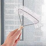 Bclaer72 Bildschirm Fenster Reinigungsbürste, Anti-Moskitonetz Professionelle Bildschirm Fenster Reinigungsbürste Heimgebrauch Gebogenes Werkzeug