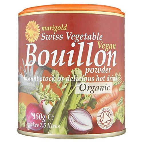 Légumes suisse Marigold Vegan Bouillon poudre organique (150g) Rouge - Paquet de 2