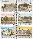 Ungarn 3701A-3706A (kompl.Ausg.) postfrisch 1984 Hotels am Budapester Donauufer (Briefmarken für Sammler)
