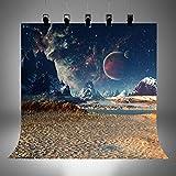 Hintergrund für Star Wars-Party, Kindergeburtstag, Fotohintergrund, Vinyl-Tapete