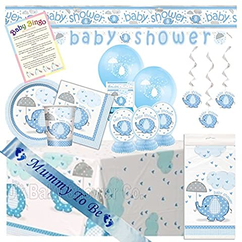 Baby Shower Ultimate Party Pack from Blue Umbrellephants Range (32 Guest)
