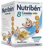 Nutribén Papilla 8 Cereales Digest Efecto Bifidus - 600 gr