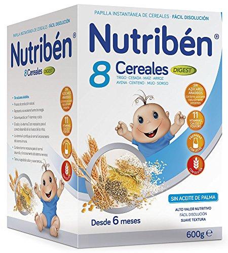 Nutribén Papilla 8 Cereales Digest Efecto Bifidus