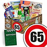 DDR Paket L | Geburtstag 65 | Geschenkset Opa | Spezialitätenset