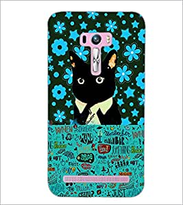 PrintDhaba Typography D-2553 Back Case Cover for ASUS ZENFONE SELFIE ZD551KL (Multi-Coloured)