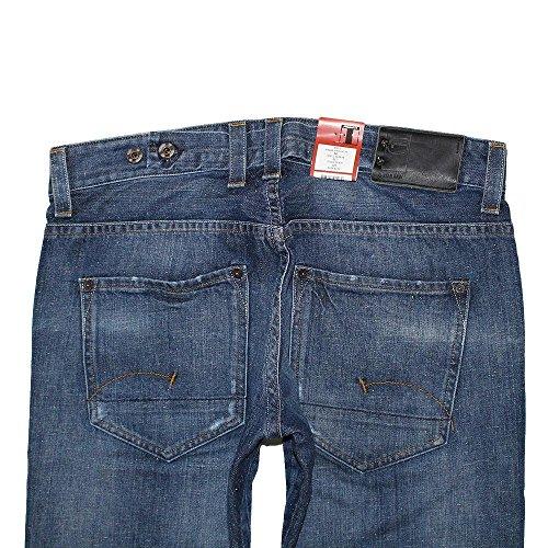 G-Star, Herren Jeans Hose, Radar Straight FO,Denim,blue used [17366] Blue Used