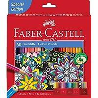 Faber-CastellCoffret de crayons de couleur, idéaux pour l'école