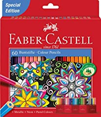 Idea Regalo - Faber-Castell 111260 Set Pastelli