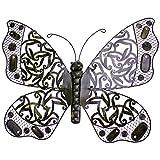 Deko Schmetterling 55cm Uni Metall Wandschmuck Wanddeko Gartendeko