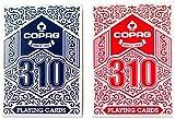 Copag 310 Doppeldeck (rot/blau)