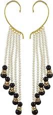 Shining Diva Fancy Party Wear Multi Strings Ear Cuffs Earrings for Girls & Women