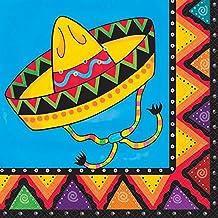 Unique Party Party Servilletas de papel mexicanos (Pack de 20)