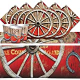 Rodeo Western Party Children's Birthday Tableware Pack For 16 People
