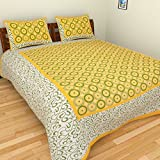 Best Home Fashion Designs Home Fashion Pillows - Suraaj Fashion 100% Cotton Double Bedsheet With 2 Review