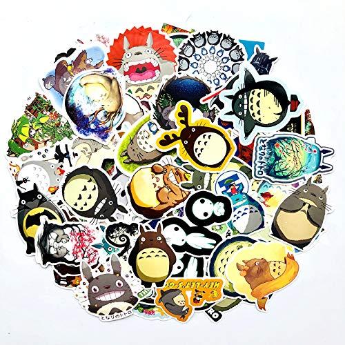 Inveroo 110pcs Totoro Cartoon Anime Aufkleber Fett Spielzeug'n Tony Koffer Laptop Laptop Gepäck Khoy Dy Ecals -