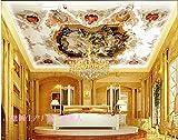 Acutray Ein Benutzerdefiniertes Hintergrundbild Continental Decke Wandbild Tapeten Licht Pool Decke Im Europäischen Stil Wohnzimmer 3D Wandbilder Tapeten An Den Wänden Dekoriert.