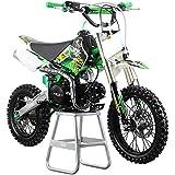 M2R Racing KXF125 120cc 76cm Green Pit Bike Junior Motocross Off Road Dirt